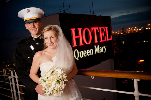 queen mary wedding Long Beach Wedding on the Queen Mary Ship