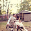 Rustic Backyard Wedding by Adria Peaden Photography
