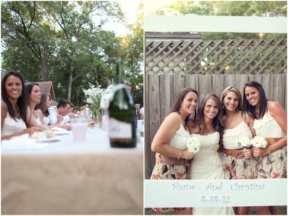 rustic theme backyard wedding Rustic Backyard Wedding by Adria Peaden Photography