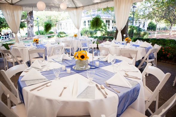 Stupendous Sunflower Table Decorations For Wedding Flowers Healthy Interior Design Ideas Inesswwsoteloinfo