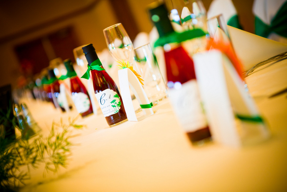 Wine Bottle Wedding Favors