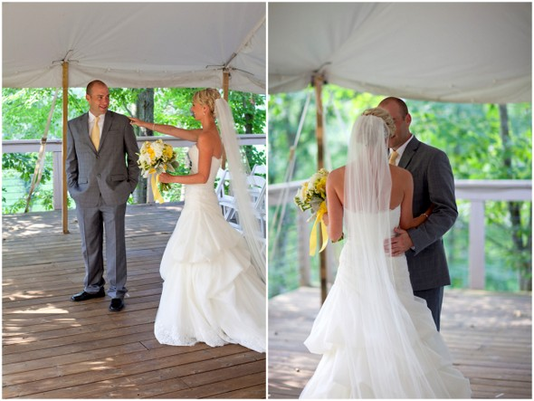 Yellow Grey & White Wedding Theme