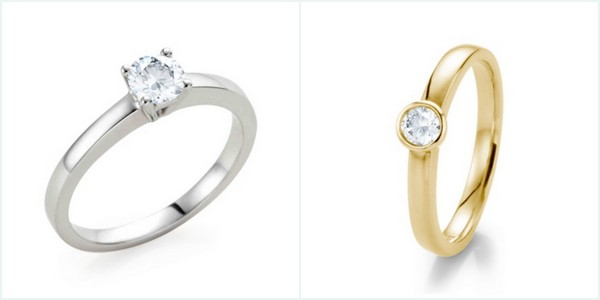 21 Diamonds Solitaire Engagement Rings