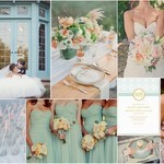 Aqua & Peach Wedding Inspiration