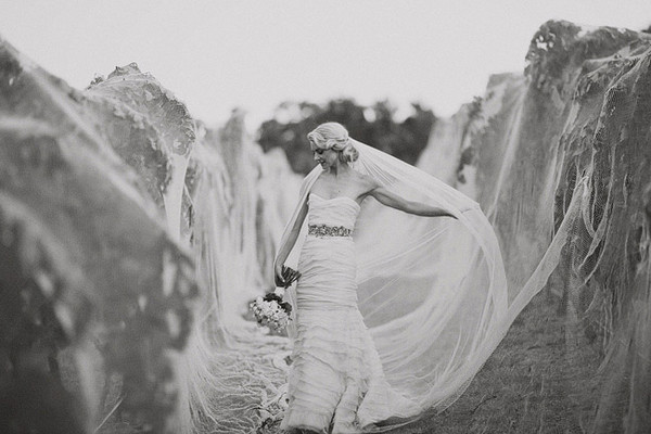 Black & White Wedding Photography - Margaret River