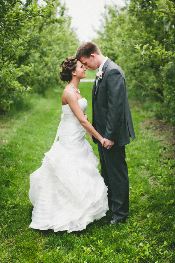 bride groom hobart indiana wedding County Line Orchard Wedding by Jordan Quinn Photography