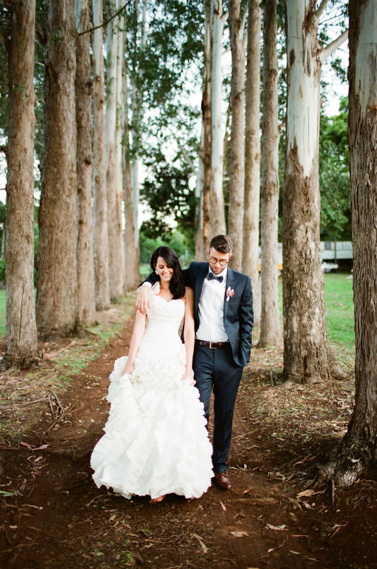 byron bay australia wedding1 Romantic Byron Bay Wedding with Orange Details