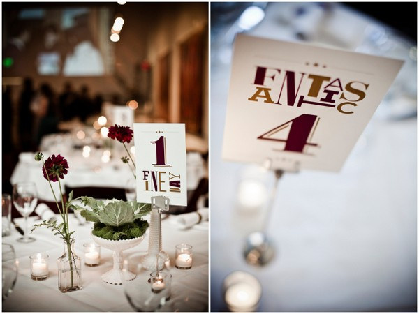 Cinema Theme Wedding Table
