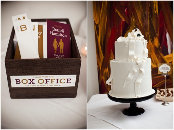 Cinema Theme Wedding