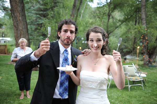 Colorado Fun Wedding Couple