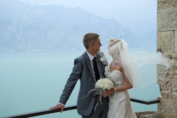 destination wedding italy lake garda Lake Garda Wedding at Malcesine Castle by Belle Momenti Photography