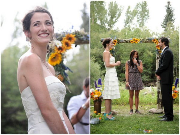 DIY Wedding Ceremony Colorado