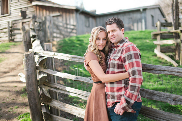 engagement farm shoot ontario 001 Ontario Farm Engagement Session by Litrato Studio