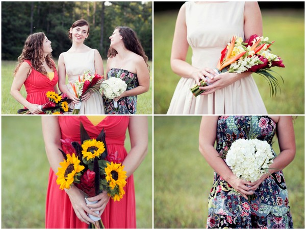 Handmade Assorted Wedding Bouquets