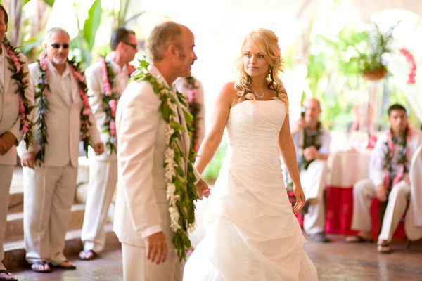 Hawaii Theme Wedding California