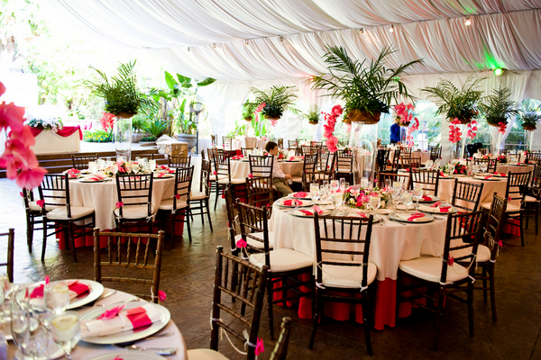 Hawaii Theme Wedding Reception