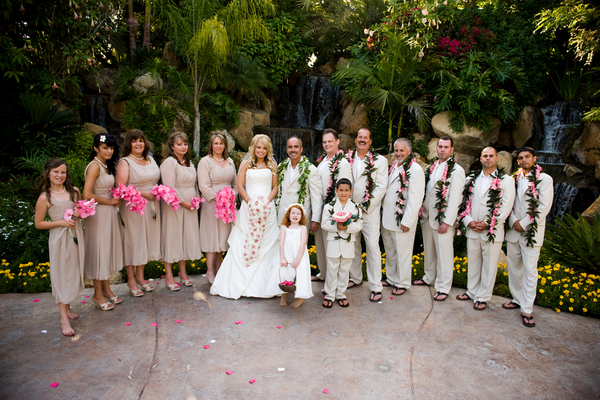 Hawaii Themed Wedding