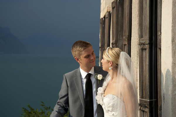 italy destination wedding Lake Garda Wedding at Malcesine Castle by Belle Momenti Photography
