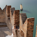 Lake Garda Wedding at Malcesine Castle by Belle Momenti Photography