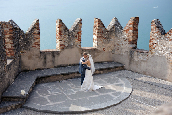 lake garda wedding Lake Garda Wedding at Malcesine Castle by Belle Momenti Photography