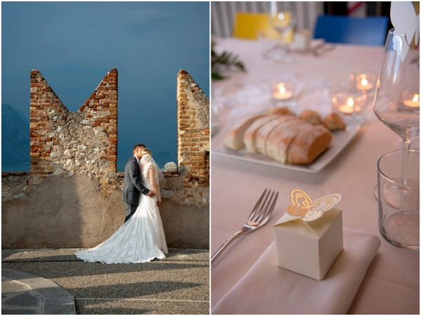 malcesine castle wedding Lake Garda Wedding at Malcesine Castle by Belle Momenti Photography