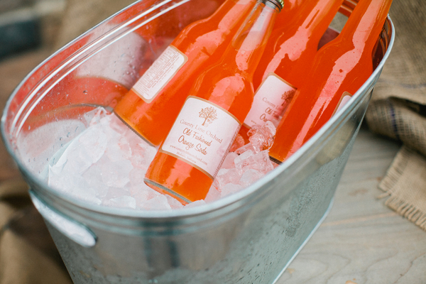 orange soda pop weddings County Line Orchard Wedding by Jordan Quinn Photography