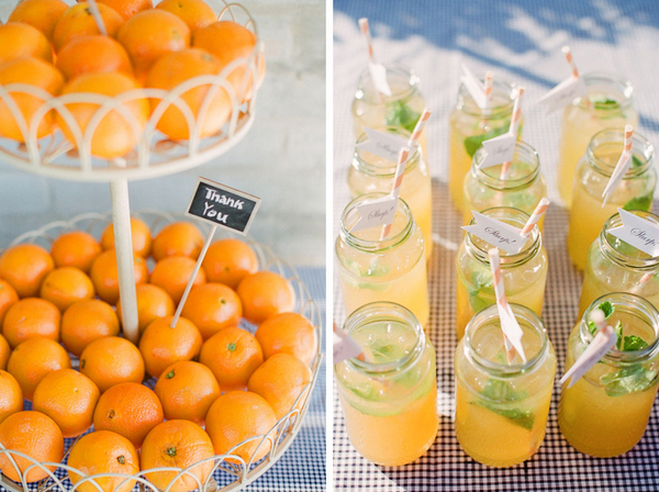 orange wedding ideas Romantic Byron Bay Wedding with Orange Details