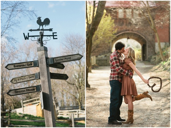 riverdale farm engagement session Ontario Farm Engagement Session by Litrato Studio