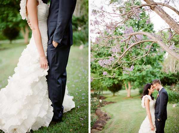 Romantic Byron Baby Australia Wedding