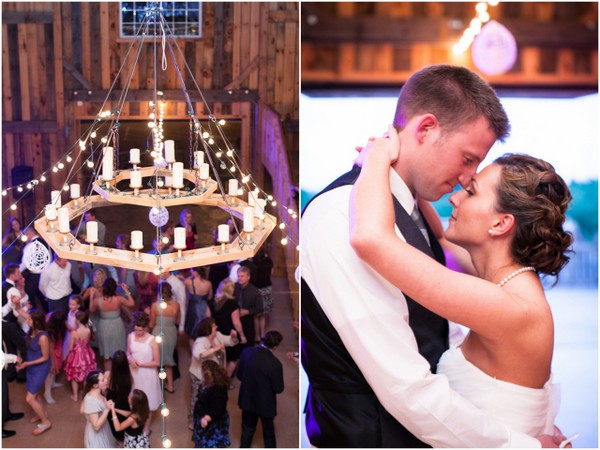 rustic barn reception County Line Orchard Wedding by Jordan Quinn Photography