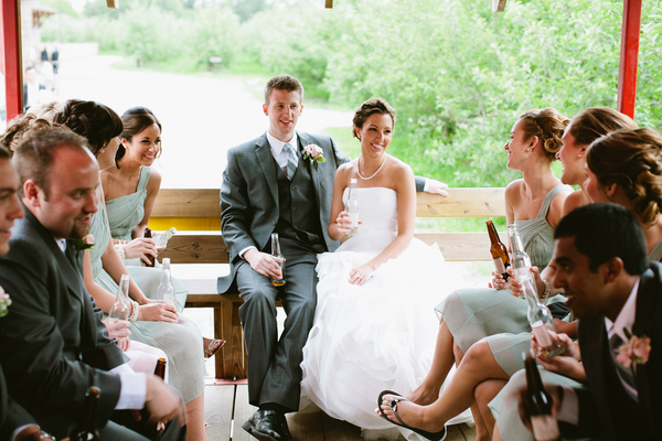 Rustic Orchard Wedding in Indiana