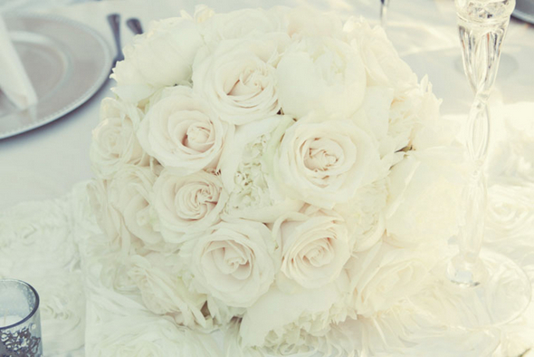 shabby chic white wedding flowers Shabby Chic Silver and White Wedding by Mathew James Photographers