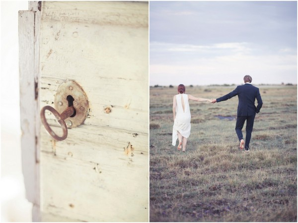 small wedding sweden An Artists Wedding in Oland Sweden