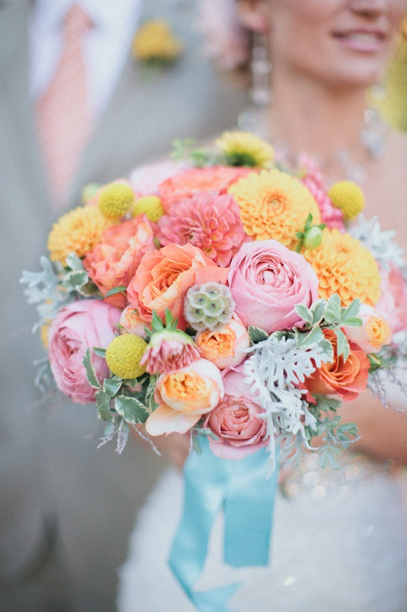 sorbet bouquet {Bouquet Inspiration} Gorgeous Sorbet Bouquet