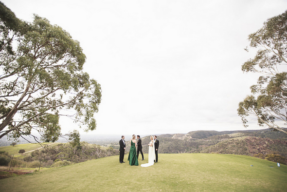 south australia real wedding Mount Osmond Golf Club Wedding by Truly Madly Photographers