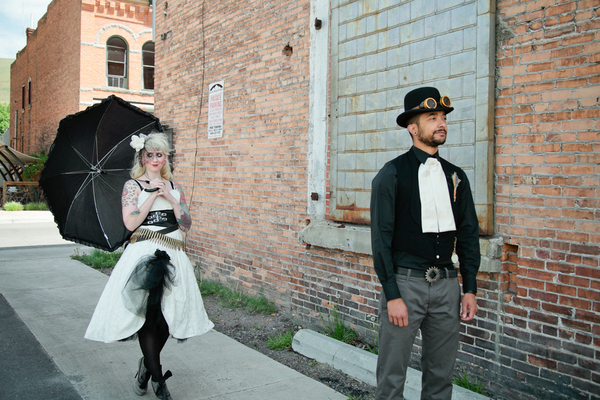 steampunk wedding dress Steampunk Wedding Theme