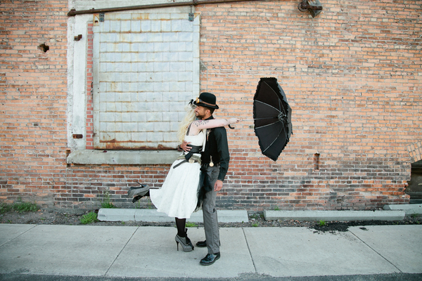 Steampunk Wedding Gown Ideas