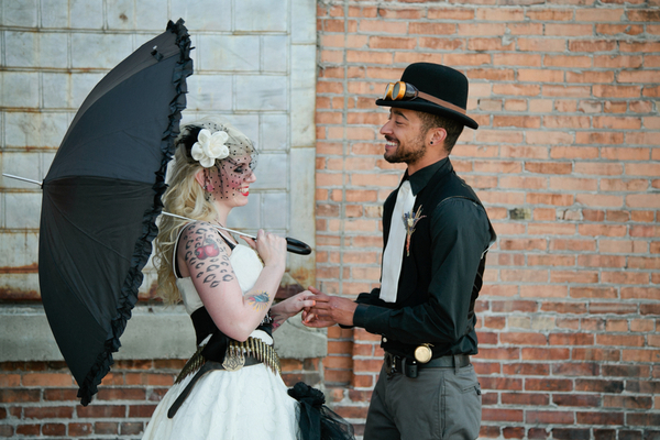 steampunk wedding ideas Steampunk Wedding Theme