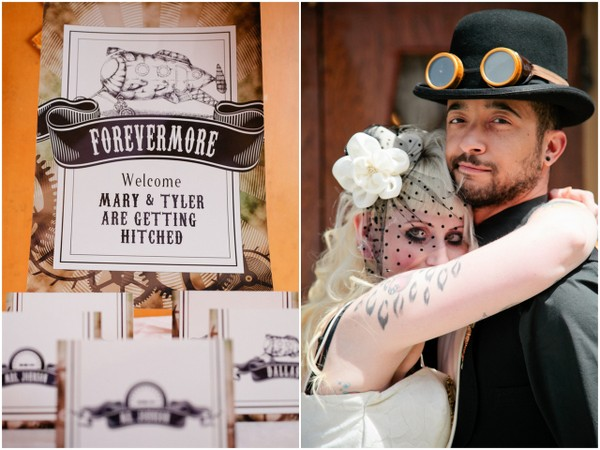 Steampunk Wedding Invitations & Ideas