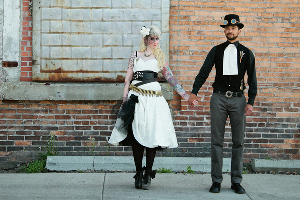steampunk wedding theme Steampunk Wedding Theme