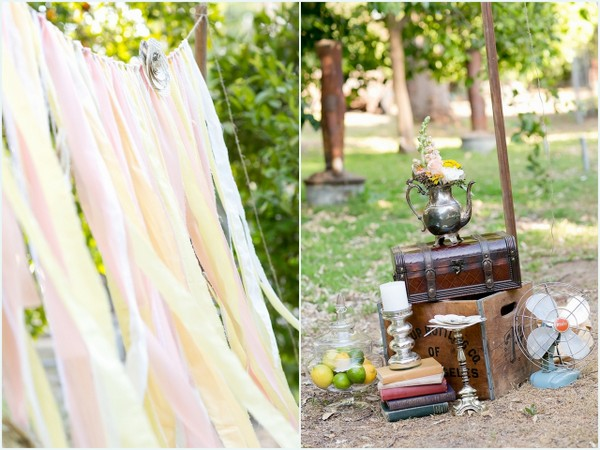Vintage Chic Styled Shoot