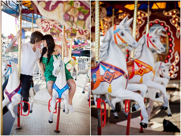 carnival e session auckland Auckland Royal Easter Show Engagement Session by Coralee & Alex
