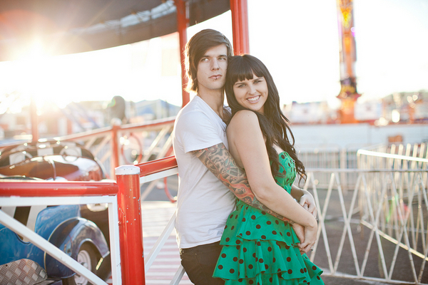 Carnival Engagement Session in Auckland