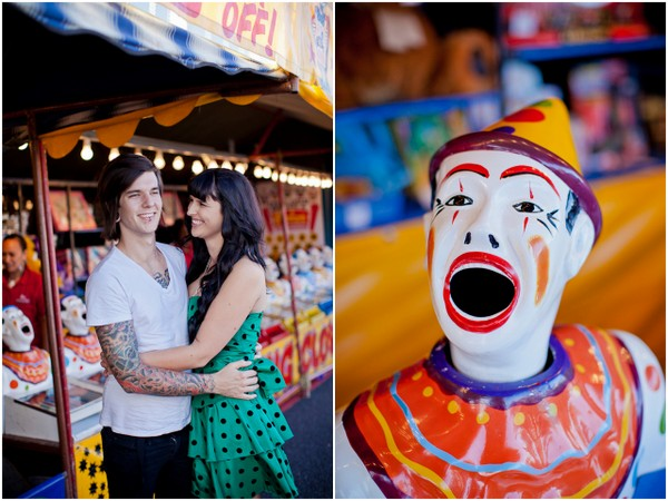 carnival engagement shoot auckland Auckland Royal Easter Show Engagement Session by Coralee & Alex