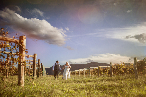 Hunter Valley NSW Vineyard Wedding