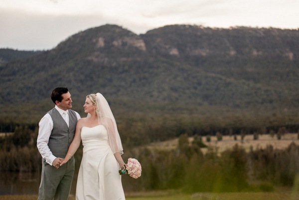 Hunter Valley Wedding Couple