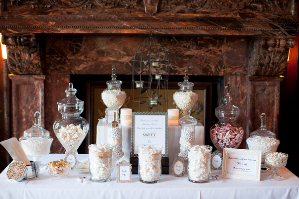 Pastel Pink Candy Buffet Table