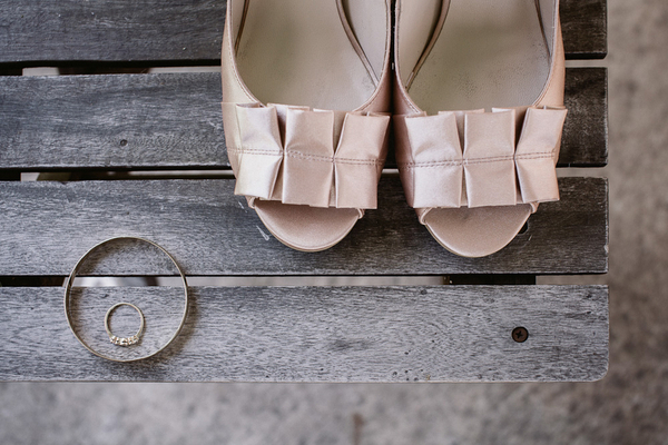 Pastel Pink Wedding Shoes