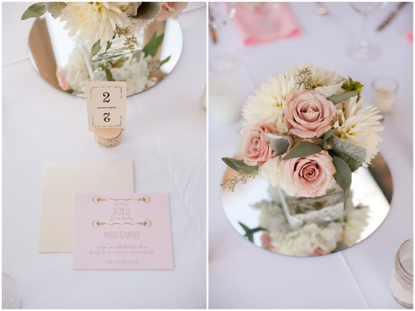 Romantic Vintage Table Setting
