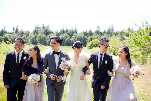 Romantic Vintage Vancouver Wedding